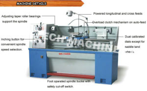 China Supplier High Precision Gap Bed Lathe (GH1440A) pictures & photos