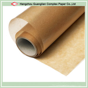 Custom Unbleached Grease Proof Siliconized Parchment Paper Sheets and Rolls pictures & photos