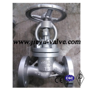 DIN Carbon Steel Globe Valve Pn16 Dn25 pictures & photos