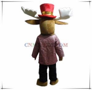 New Design Gentleman Deer Mascot Carnival Costume pictures & photos
