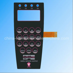 Metal Dome Membrane Switch Keypad pictures & photos