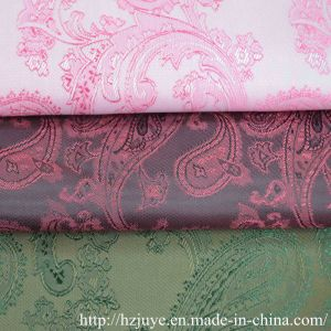 Polyester-Viscose Jacquard Lining Fabric for Garments pictures & photos