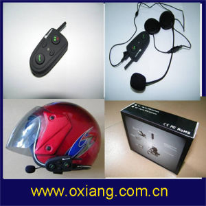 500m Motorcycle Bluetooth Helmet Headset Embedded FM Radio pictures & photos