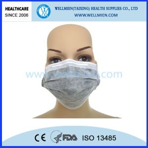 Nonwoven Medical 4-Ply Active Carbon Face Mask (WM-CM1212) pictures & photos