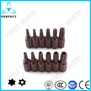 Cr-V Steel High Magnetic Torx Screwdriver Bit pictures & photos