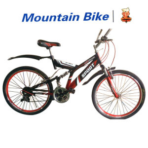 2016 Popular Double Suspension Mountain Bicycle (FP-MTB-DS001) pictures & photos