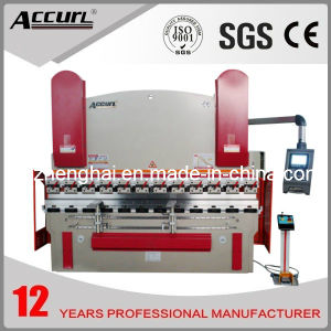 Accurl 2014 New Machinery Hydraulic CNC Brake MB8-30t/1600 Delem Da-66t (Y1+Y2+X+R axis) Press Brake pictures & photos