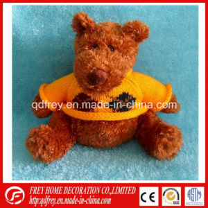 Christmas Gift of Plush Teddy Bear Toy with Sweater