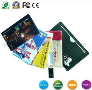 Credit Card USB Flash Drive Business Gift USB Memory pictures & photos