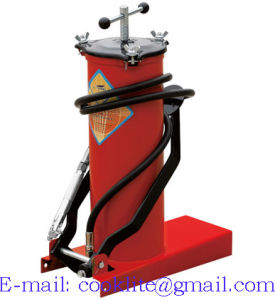 High Pressure Greasing Equipment Portable Pedal Grease Pump Lubrication Bucket - 6L pictures & photos
