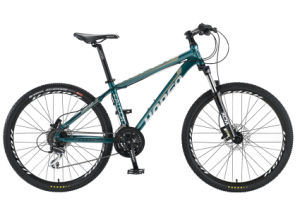 "Dark Green 26"" 24sp High Quality Aluminum Mountain Bicycle,"