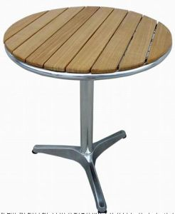 Aluminium Wood Table (TA82062)
