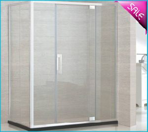 Luxury Simple Integral Enclosed Stainless Steel Shower Cubicle pictures & photos