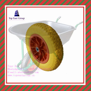 Good Quality Long Life PU Foam Wheel with 350-8 400-8 pictures & photos