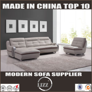 Living Room Furniture Set Modern Functional Leather Sofa Set pictures & photos