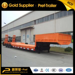 2015 Year Three Axles 55 Tons Low Loader Truck Trailers