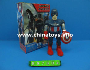B/O Captain America Robot with Light Music (897804) pictures & photos