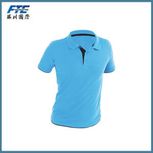 Plain Polyester Polo Shirt with Your Logo pictures & photos