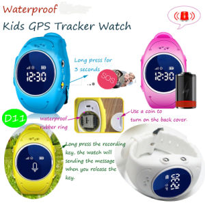 Kids GPS Watch with GPS+Lbs+WiFi Triple Position (D11) pictures & photos