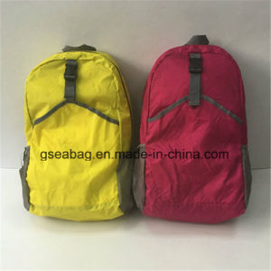 Promotion Folding Fashion Backpacks for Travel Sports Climbing Bicycle Military Hiking Promotional Bag (GB#20012) pictures & photos