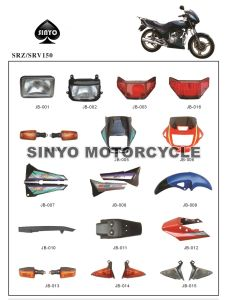 Durable Srz Motorcycle Body Spare Parts pictures & photos