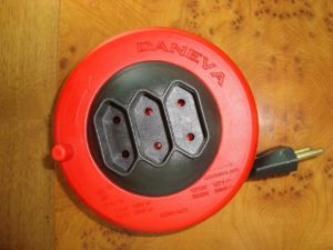 Brazil 3 Sockets Cable Reel (PT-314) pictures & photos