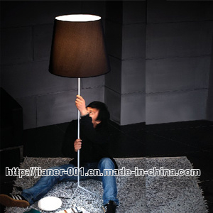 Hotel Bedside Floor Lamp, Fabric Shade Standing Lamp, Floor Lighting pictures & photos
