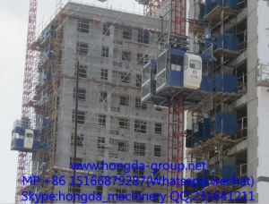 Rack Type Building Hoist pictures & photos