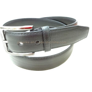 2016 Fashion New Design Shaving Leather Stripes Belt for Men pictures & photos