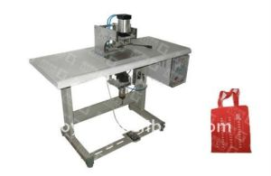 Non-Woven Bag Making Machine with Auto Punch in Line pictures & photos