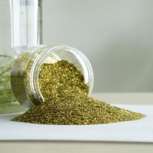 Bulk Sale Gold Holographic Glitter Powder with Low Price pictures & photos