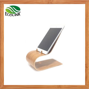 Bamboo Rack Bamboo Holder Stand for MacBook iPad pictures & photos