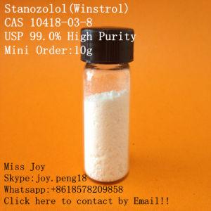 USP Winstrol High Purity Winstrol Stanazol Oral Anabolic Steroid Powder CAS 10418-03-8
