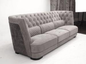 Italian Nubuck Leather Upholstered Livingroom Furniture Series pictures & photos