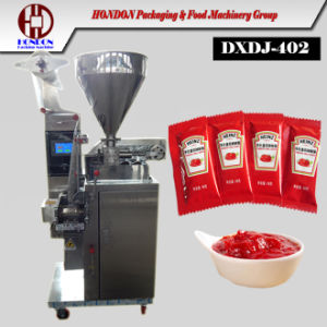 Automatic Ergonomic Ketchup Small Sauce Sachet Packing Machine pictures & photos