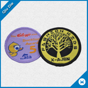 Circular Monder Embroidery Patch for Apparel/Textile Clothing pictures & photos