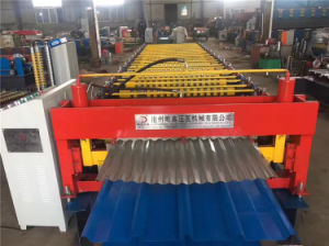 Metal Roof Sheet Profile Roll Forming Machine pictures & photos