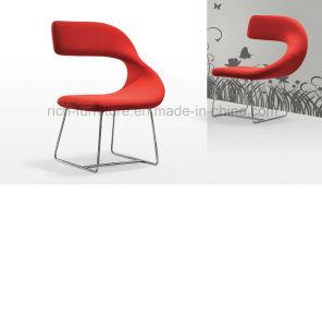 Popular Modern Metal Frame Velvet Bar Chair pictures & photos