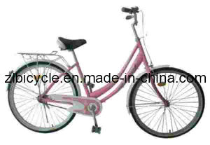 26 Inch High Quality Single Speed Lady City Bike (Zl060537) pictures & photos