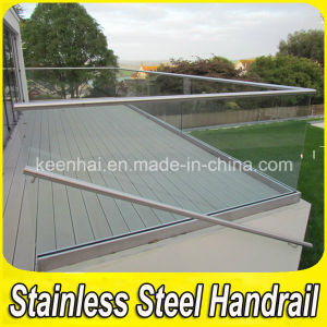 Outdoor Stainless Steel Handrail Clear Glass Balustrade pictures & photos