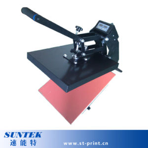 E Magnet Manual High Pressure T-Shirt Press Transfer Machine pictures & photos
