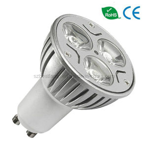 Power LED Bulbs in GU10 Lamp Base pictures & photos