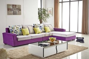 Pictures of Sofa Designs, High Quality C Shaped Modern Fabric Sofa pictures & photos