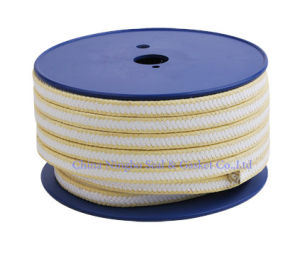 PTFE with Aramid Fiber in Corners Reinforced Packing pictures & photos