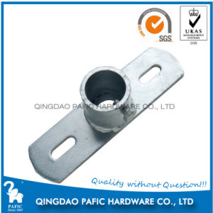 Galvenized Steel Fencing Pole Base Support pictures & photos