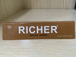 100% Hemp Material Smoking Rolling Paper pictures & photos