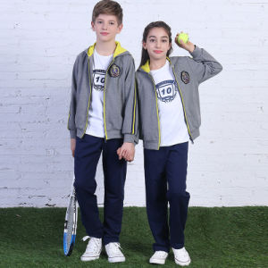 Cheap Tracksuits Sports Wear, Girls School Sportswear, Fabric for Track Suit Sportswear pictures & photos