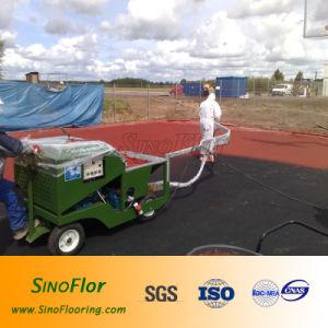 Plastic Athletic Track Spray Machine pictures & photos