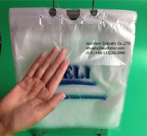 Plastic PE Foods/Deli Bag for Grocery Bread/Food Paclaging or Taking Away pictures & photos