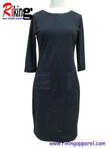 Solid Color Dress